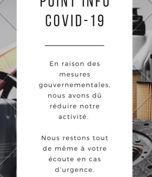 COVID 19     19/03/2020